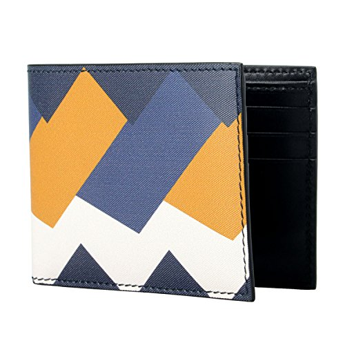 Salvatore Ferragamo 100% Leather Multi-Color Men's Bifold Wallet