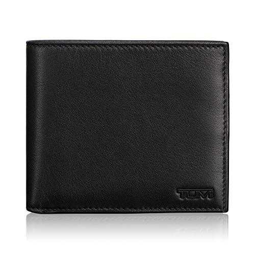 TUMI – Delta Global Center Flip Passcase Wallet with RFID ID Lock for Men – Black