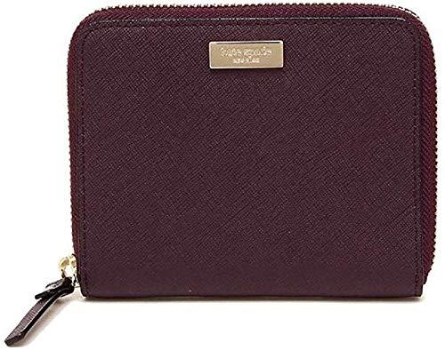 Kate Spade Laurel Way Darci Deep Plum Small Zip Around Wallet
