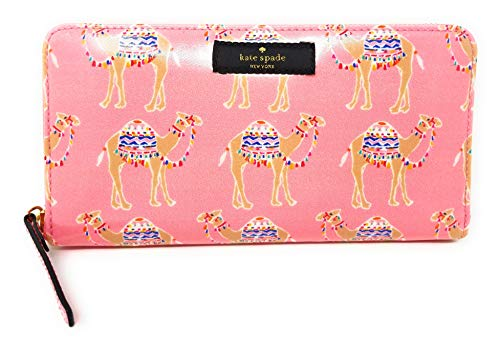 Kate Spade Daycation Camel Party Neda Wallet in Pink