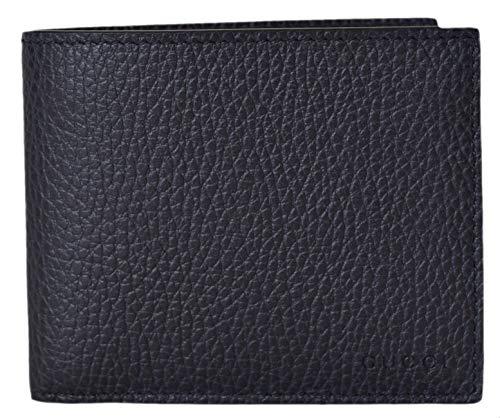 Gucci Men's Blue Leather Trademark Logo Bifold Wallet (260987/Blue)