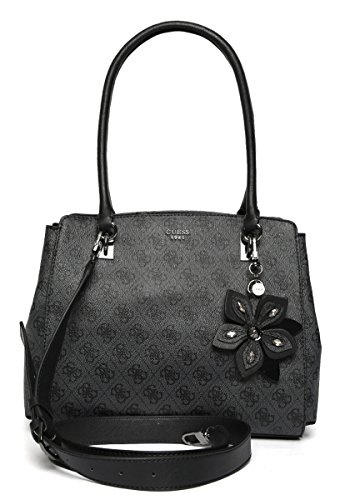 GUESS Sibyl Logo Girlfriend Satchel Bag Handbag