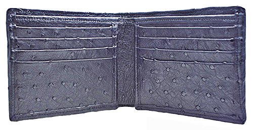 Black Ostrich Wallet by John Allen Woodward