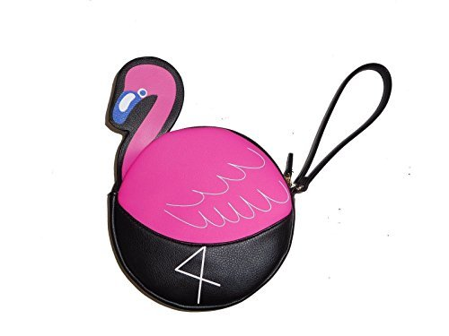 Luv Betsey Johnson Flamingo Coin Purse/Wristlet