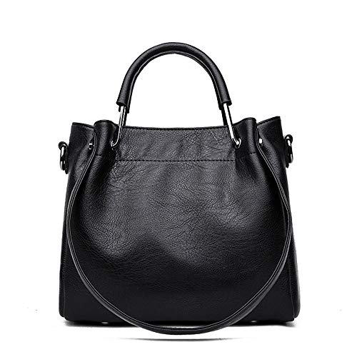 XiAdi Bag – PU Fabric/Polyester/Retro Style Personality Handbag, Portable Ladies Shoulder Shoulder/Crossbody Bag, Soft/Wearable (25x14x31cm) Leggings Bag