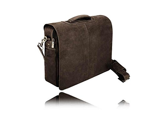 Visconti Stylish Quality 18760 Messenger Bag / Computer Laptop Handbag / Leather Bag